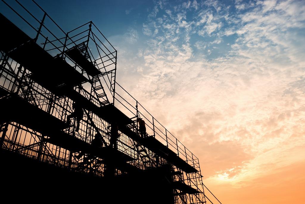 作業員の安全を守る足場工事